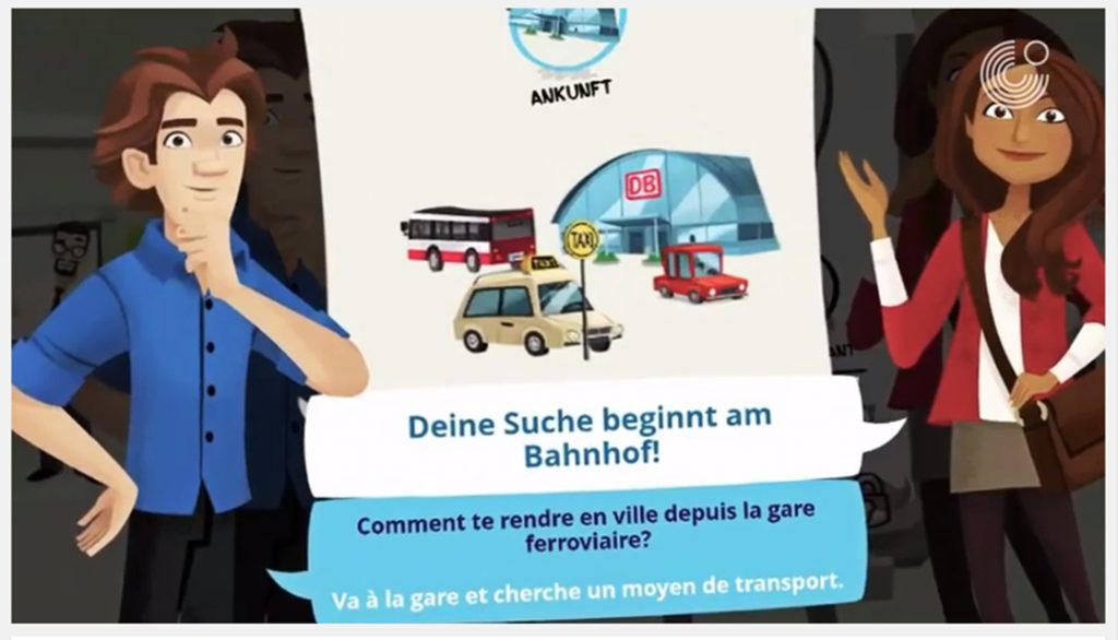 gothe jeux exercice allemand