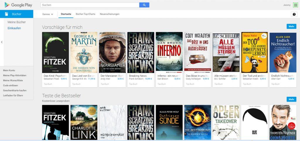 livre allemands sur google play