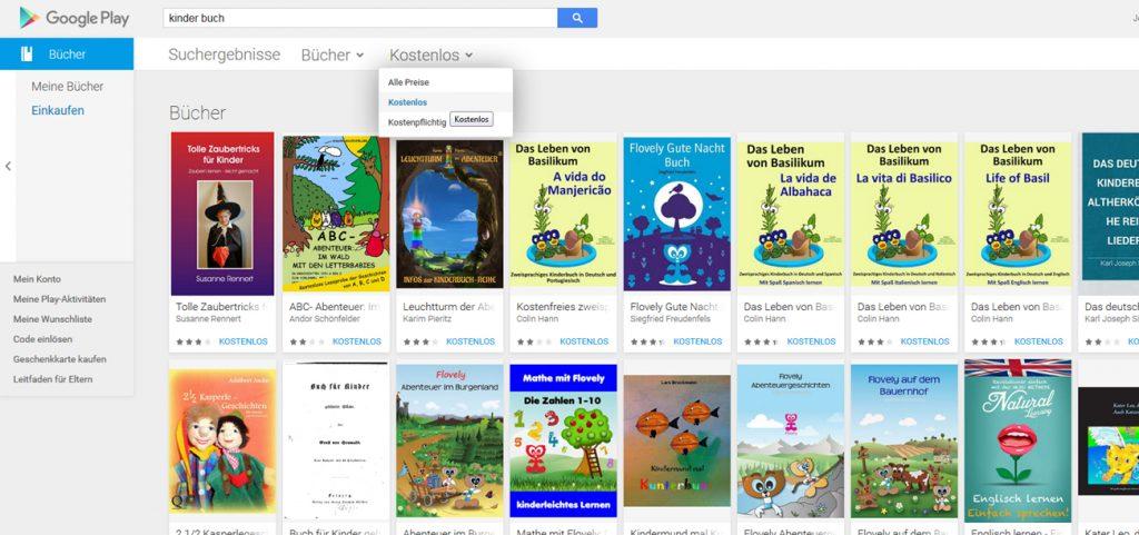 google play livre allemand gratuit