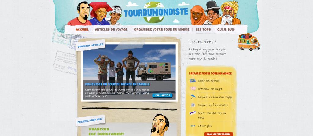 tourdumondiste accueil blog