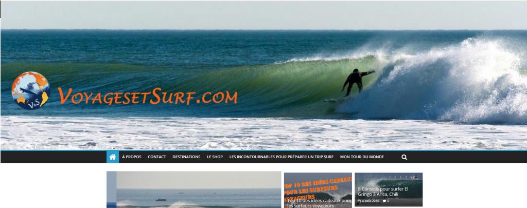surf et voyages