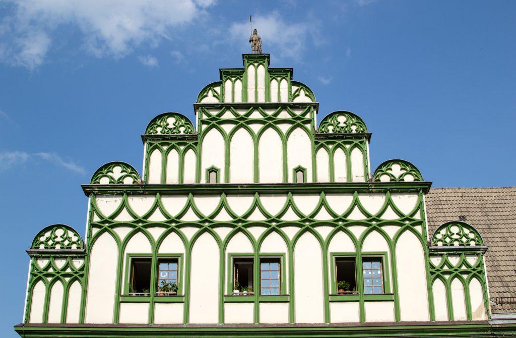 un batiment à Weimar
