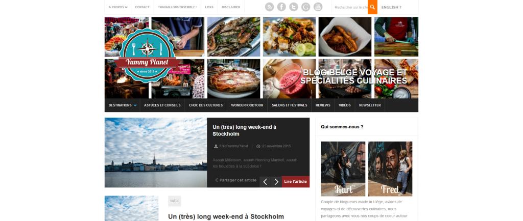 blog voyage et foodie