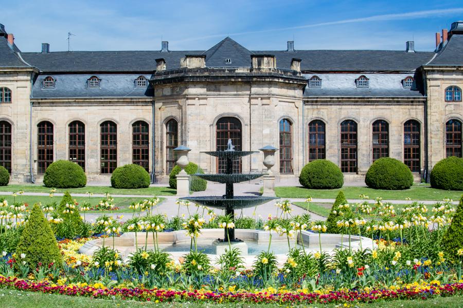 les jardins du chateau de Gotha