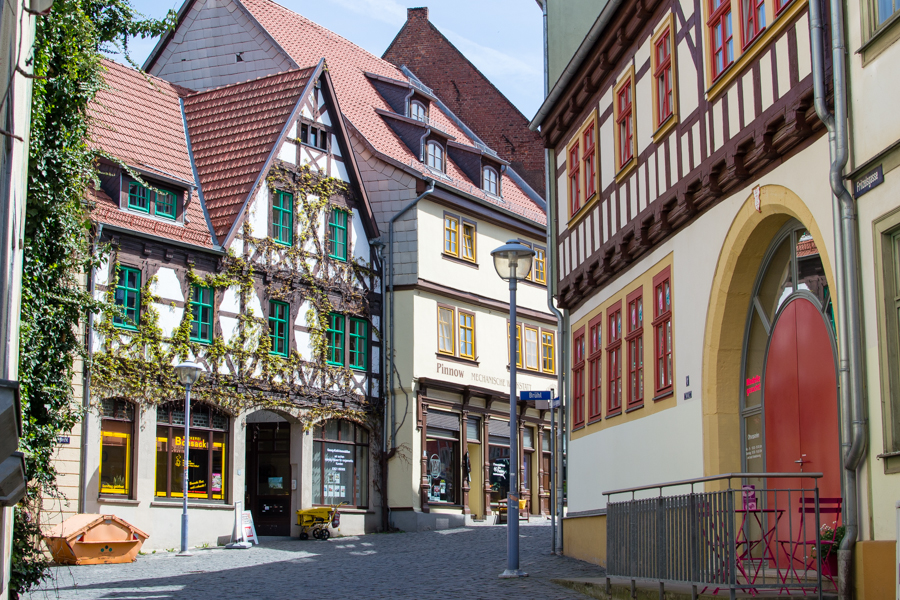 le centre ville de Gotha
