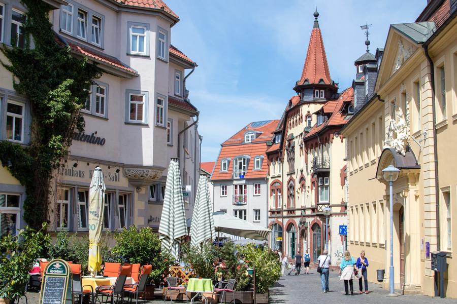 vue de Gotha en Thuringe