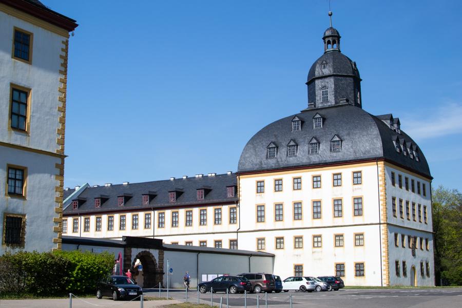 La palace de Friedenstein à Gotha