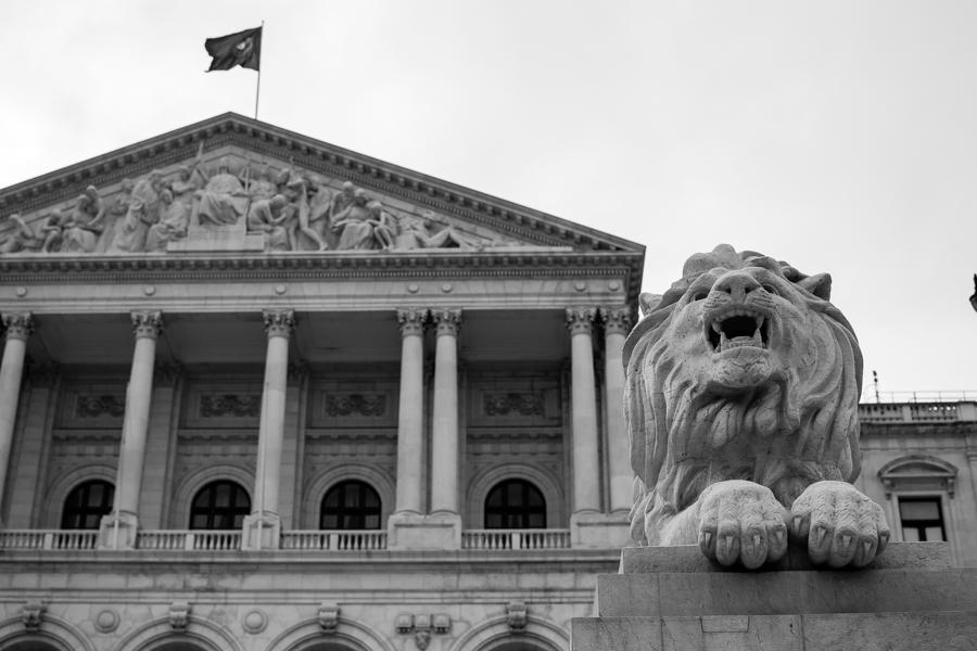 photo de l'Assemblée de la république de Lisbonne