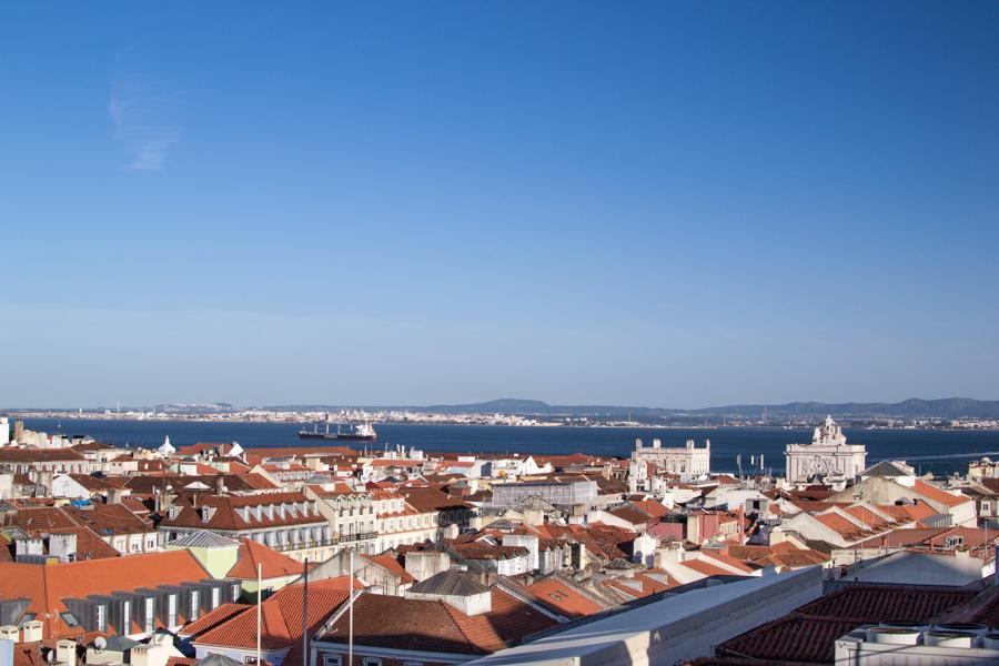 photo panorama Lisbonne
