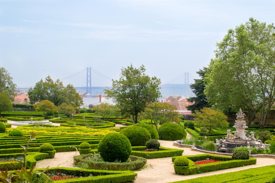 Lisbonne top 10 des plus beaux points de vue carte for Rabais jardin botanique 2016