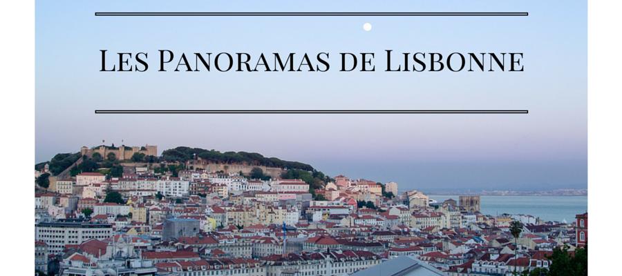 Lisbonne Top 10 Des Plus Beaux Points De Vue Carte