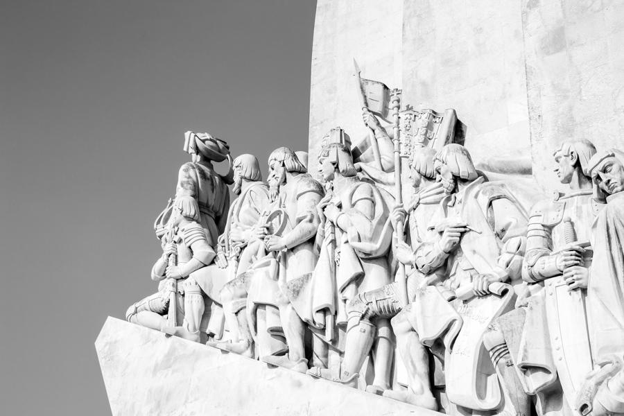 sculpture du monument des découvertes