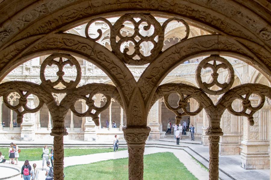 details de près au Monastère de Jeronimos