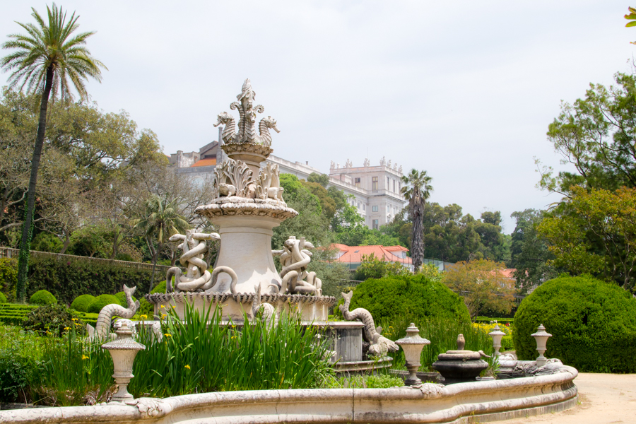 le jardin botanique d'Ajuda à Lisbonne