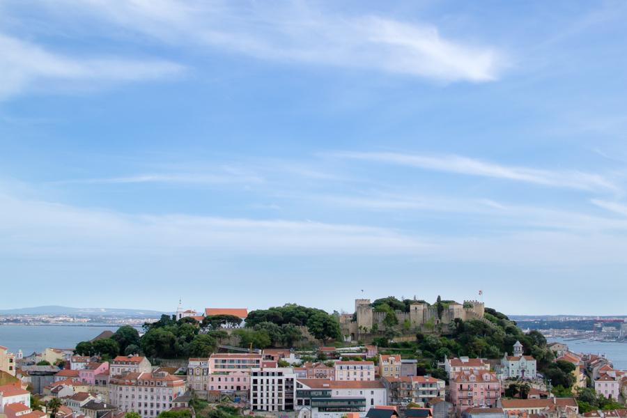 le chateau Jorge dans le quartier d'Alfama