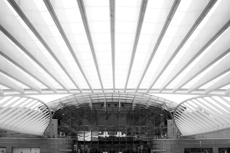 la gare du Parque das Nacoes