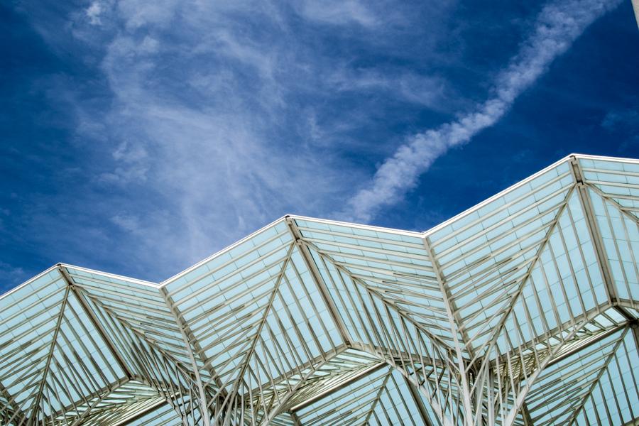 architecture au Parque das Nacoes