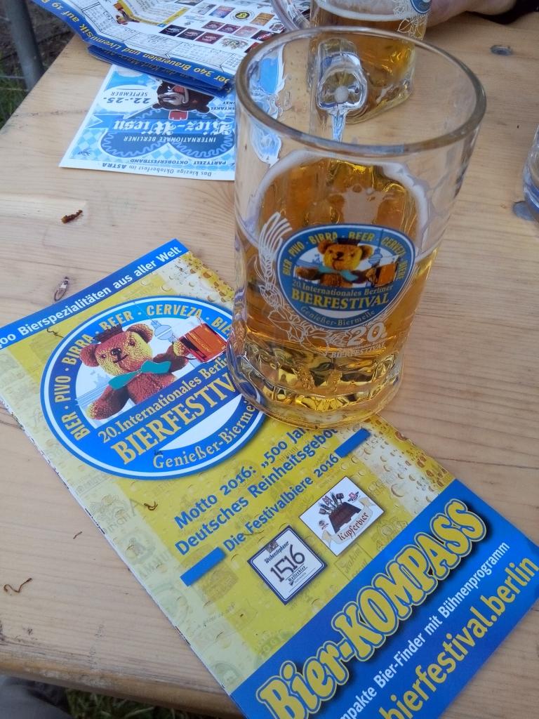fête de la bière à Berlin