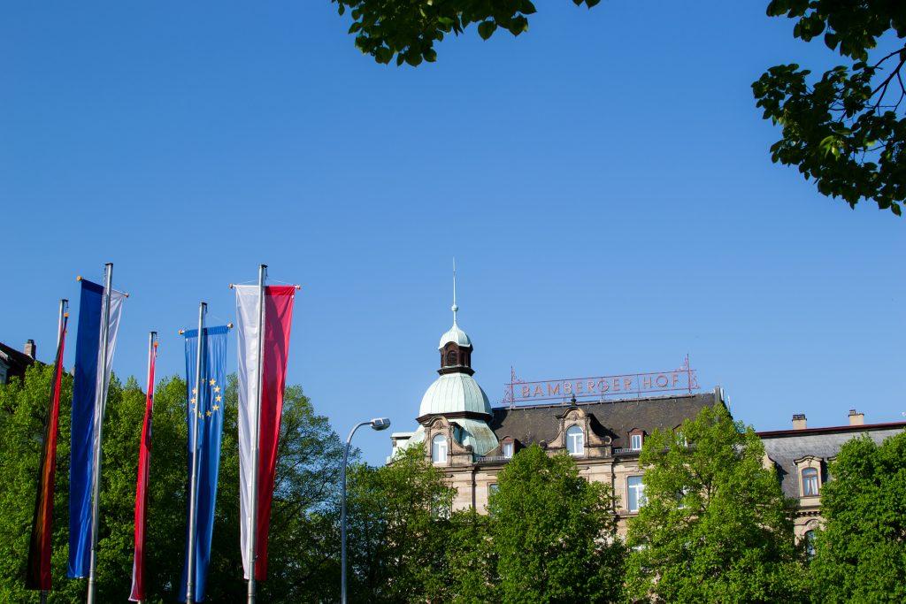 La gare centrale de Bamberg