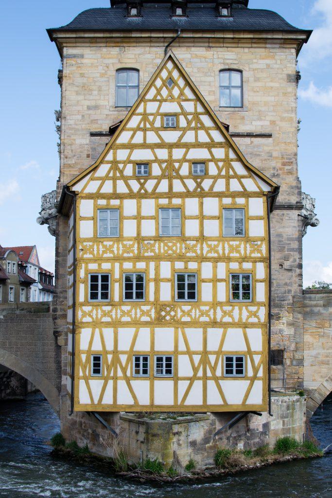 l'ancienne mairie de Bamberg