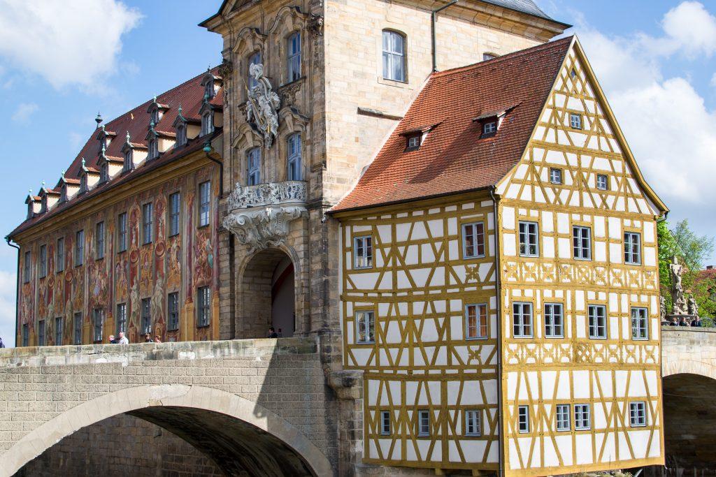 la vieille mairie de Bamberg