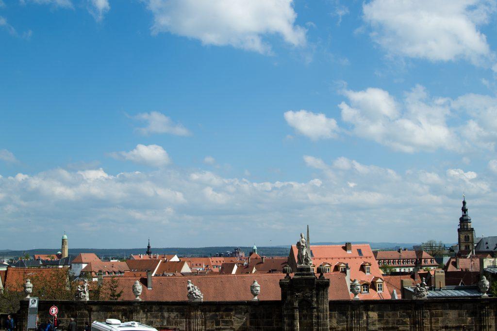 Sur les toits de Bamberg