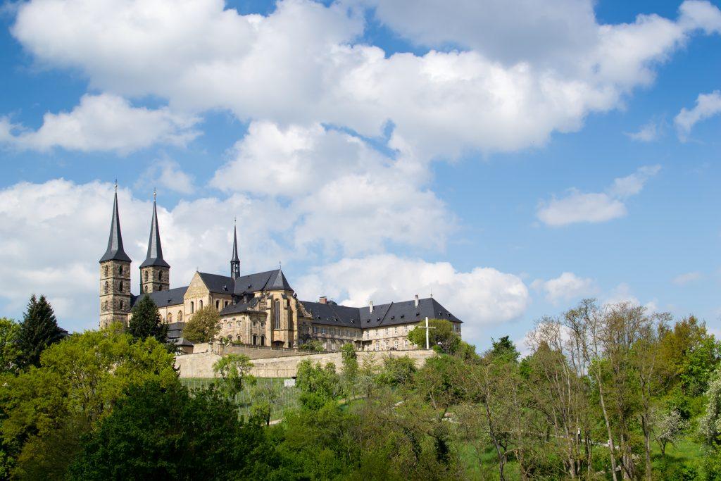 vue de bamberg et sa cathedrale