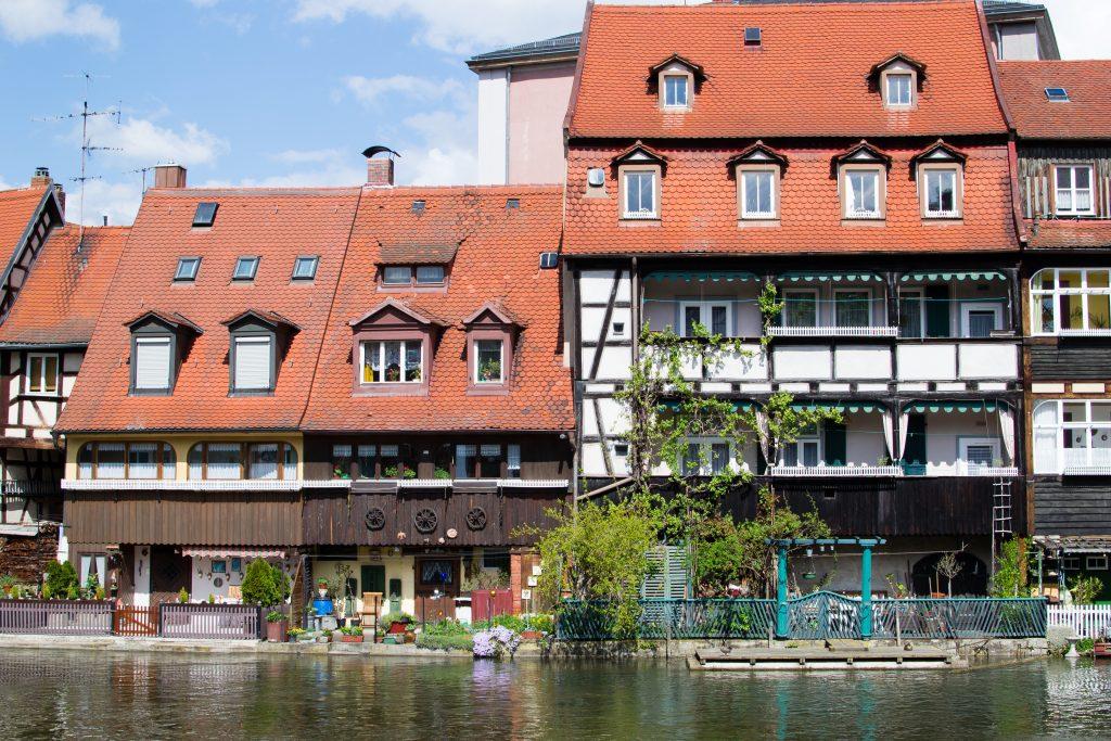la rivière à Bamberg