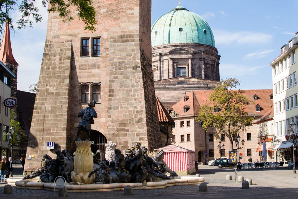 Jakobsplatz à Nuremberg