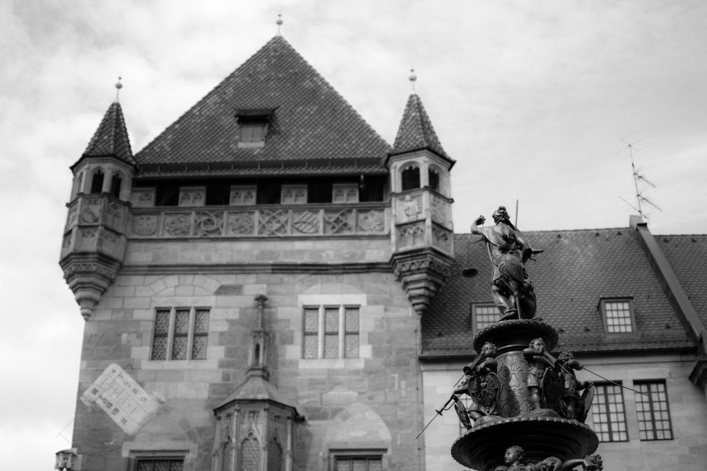 La vieille ville de nuremberg