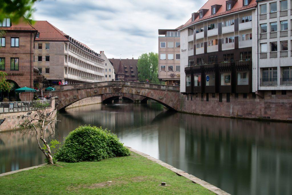 La rivière pegnitz à Nuremberg