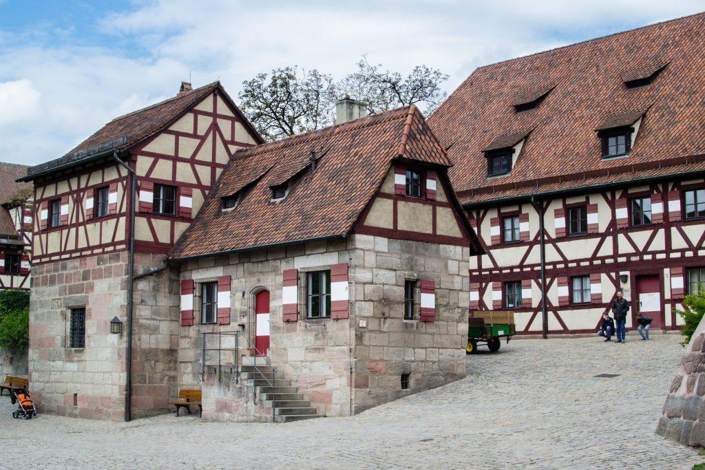 chateau de kaiserburg à nuremberg