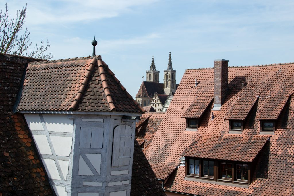 toits de Rothenburg