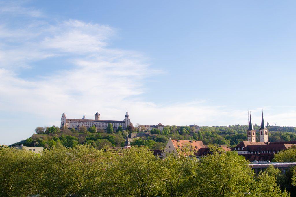 le chateau de marienberg à wurzburg
