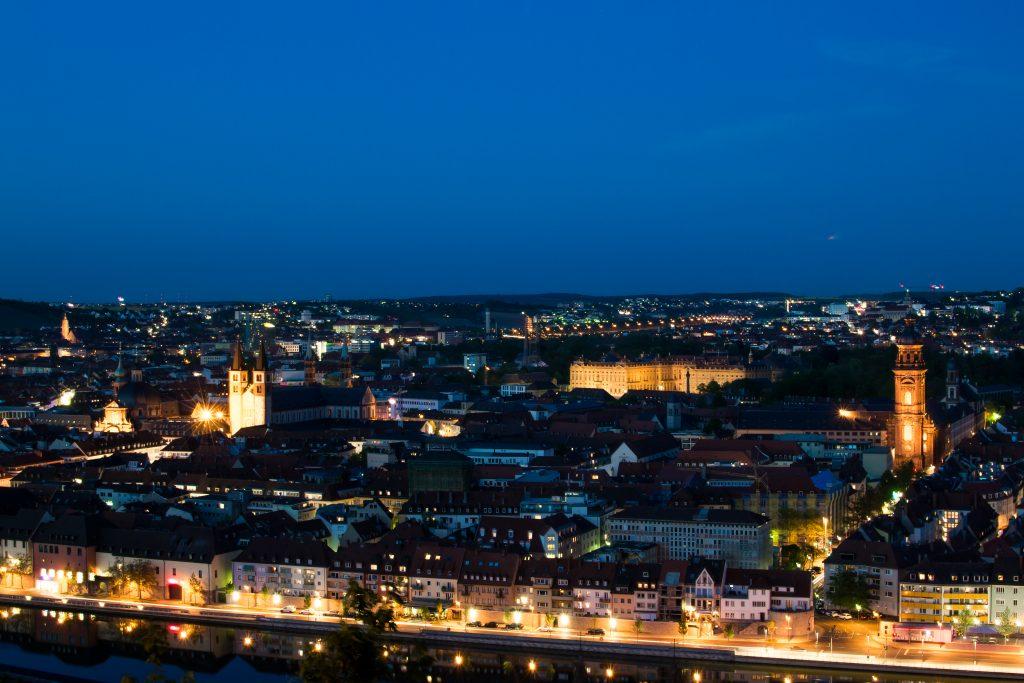 Würzburg de nuit