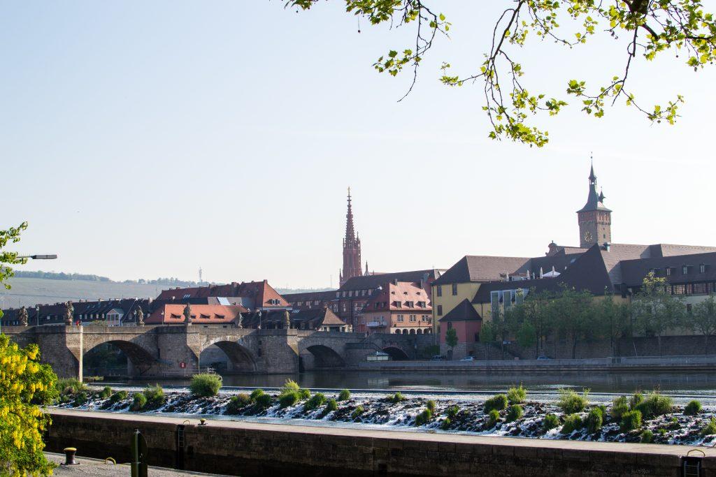 la rivière Main à wurzbourg