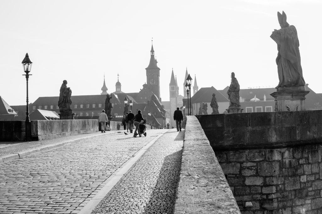 le Alte Mainbrück à Würzburg