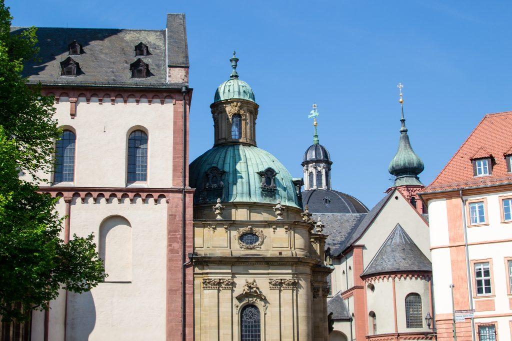 centre-ville de Würzburg