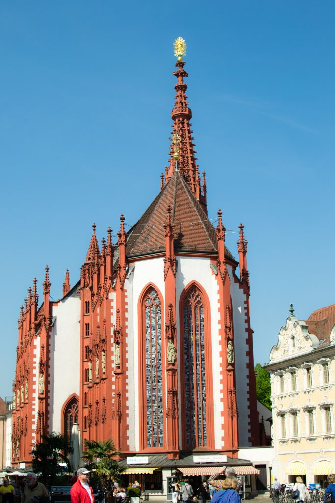 la cathédrale de wurzbourg