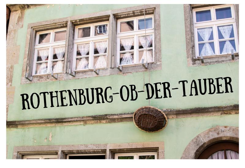 rothenburg-ob-der-tauber en Allemagne