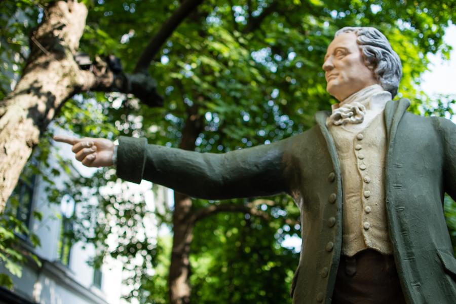 statue weimar musique