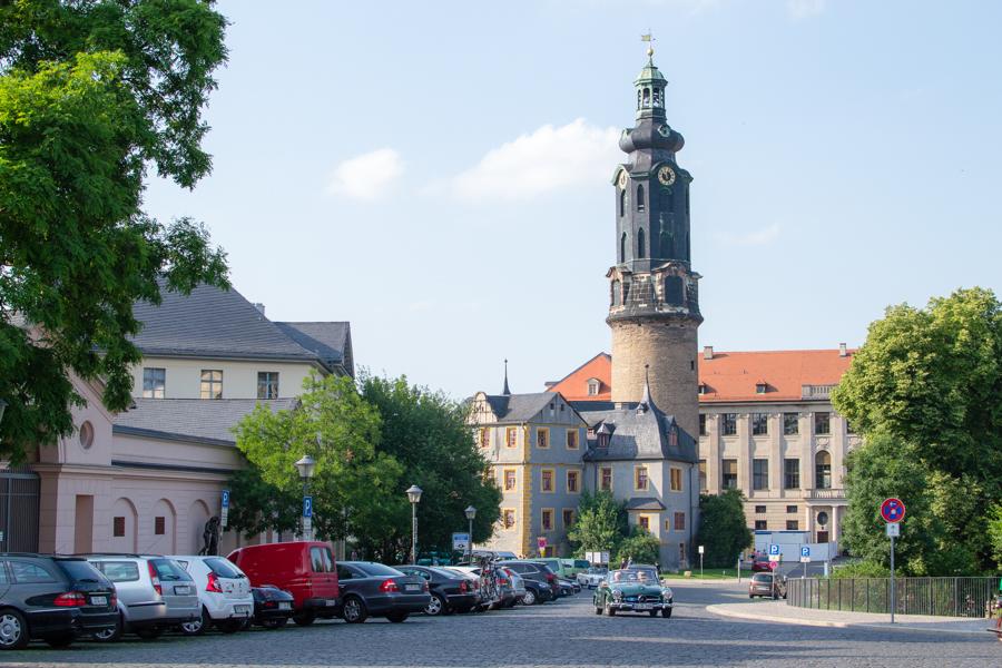 Le musée chateau de la ville de Weimar en Thuringe