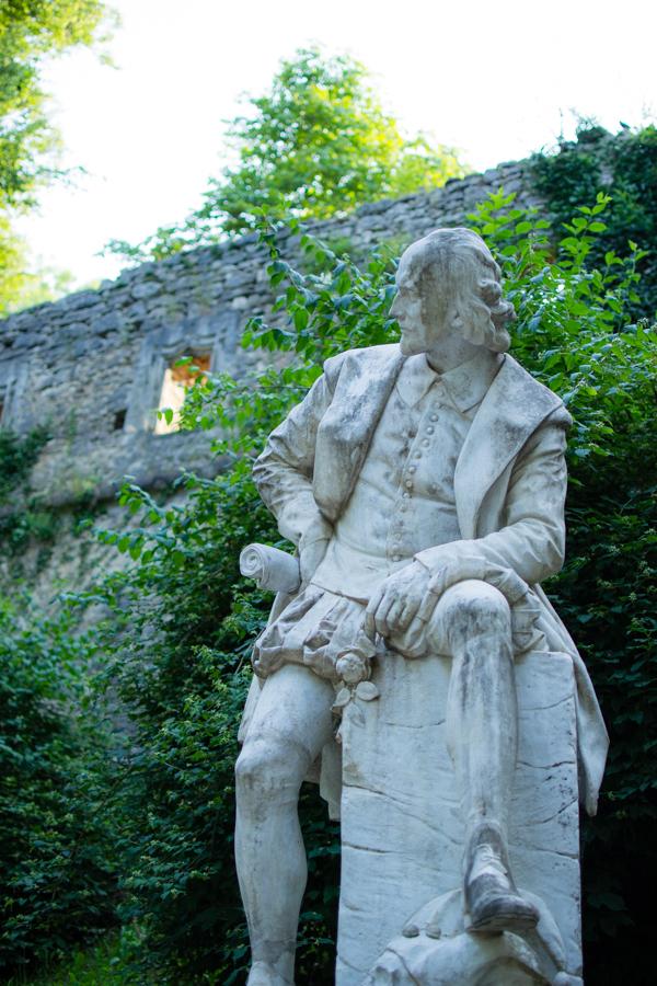statue parc weimar
