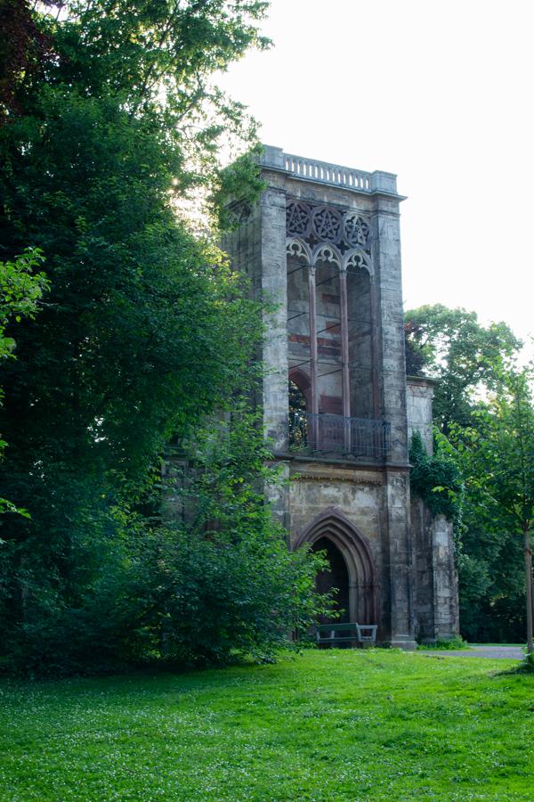 Temple dans le parc de Weimar