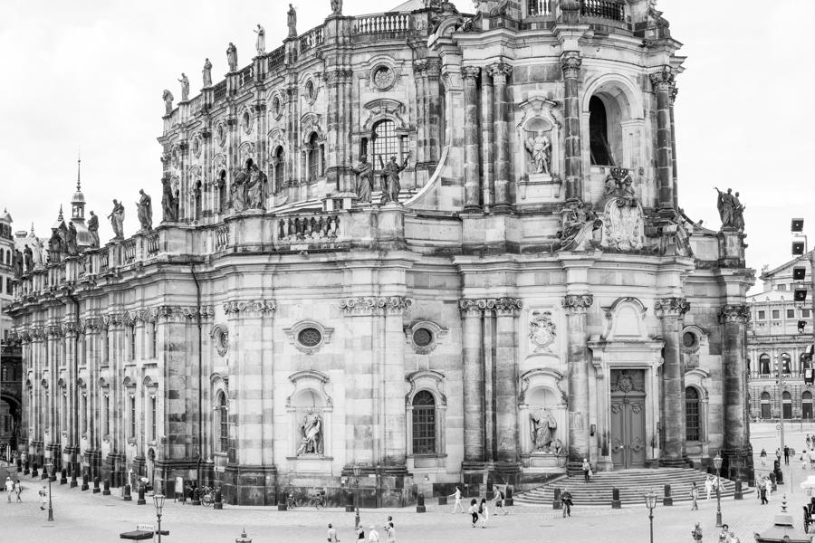cathédrale catholique de Dresde