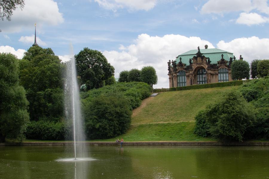 jardin opéra Dresde