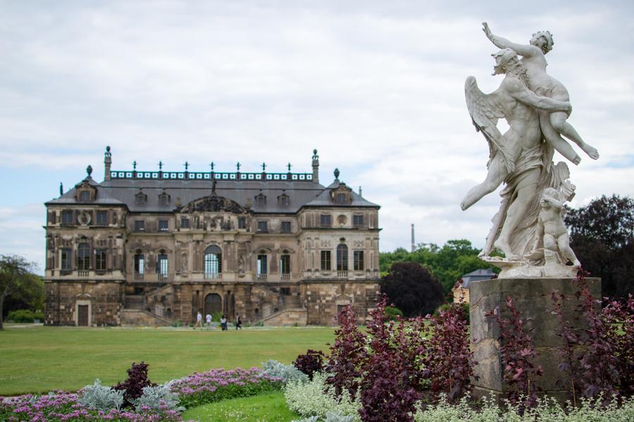 Les grands jardin de Dresden en Allemagne