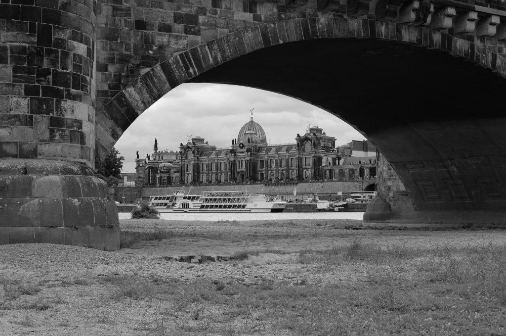 Photo de l'Elbe à Dresde