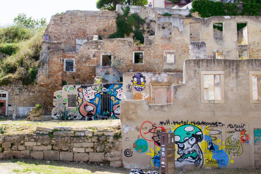 graffiti à lisbonne