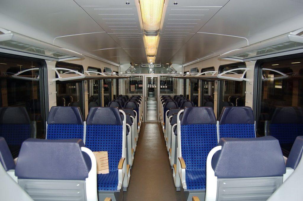 un train régional Allemand